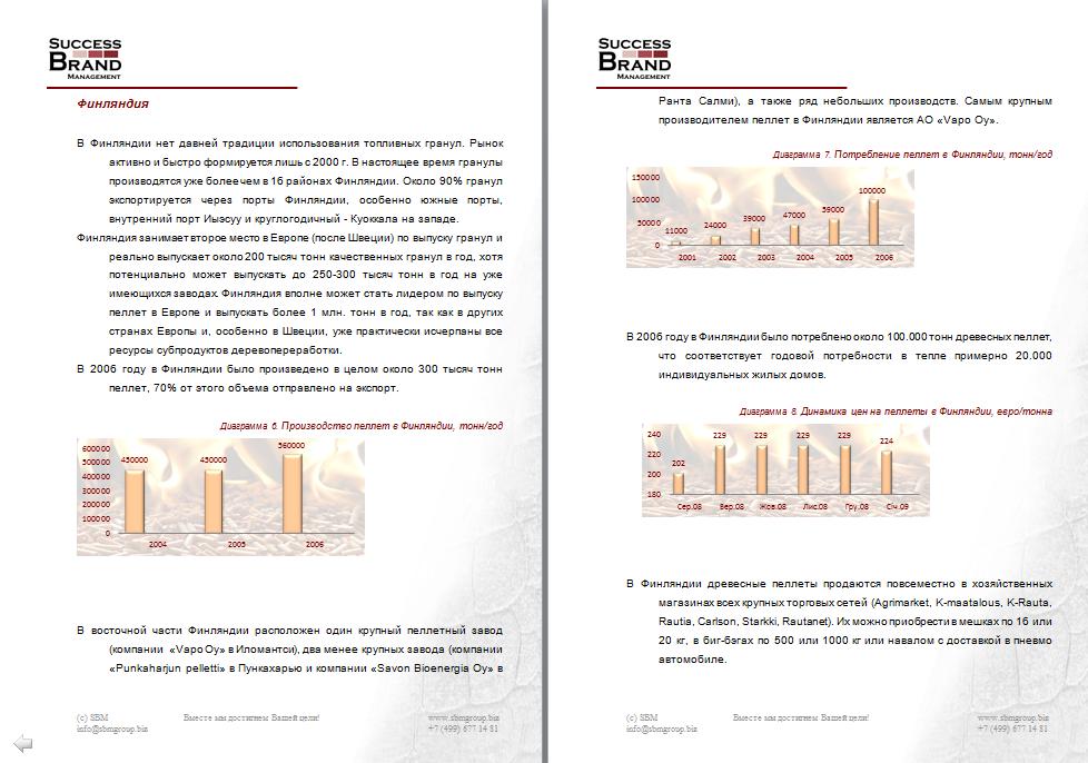 Анализ рынка древесных пеллет