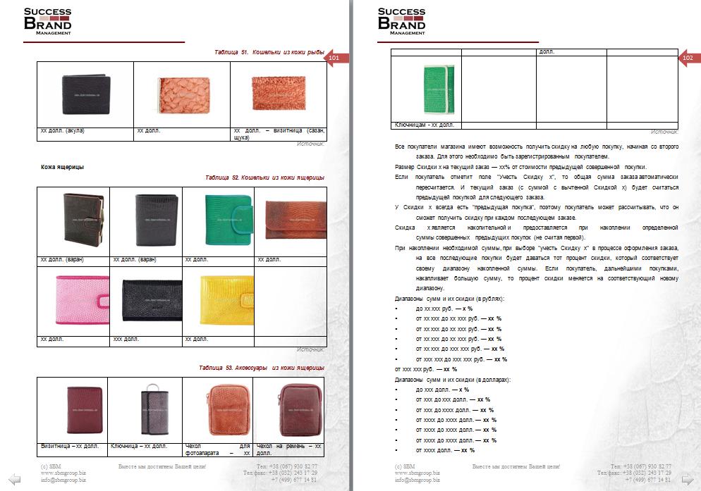 Анализ рынка изделий из кожи
