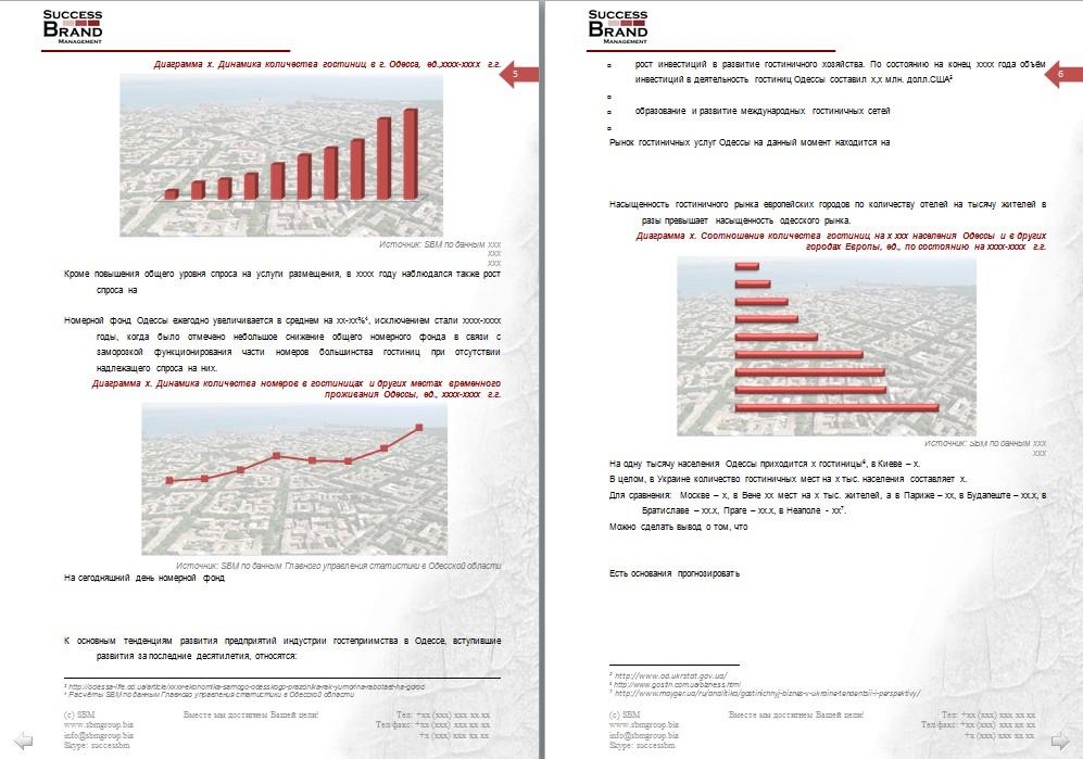 Анализ рынка гостиниц
