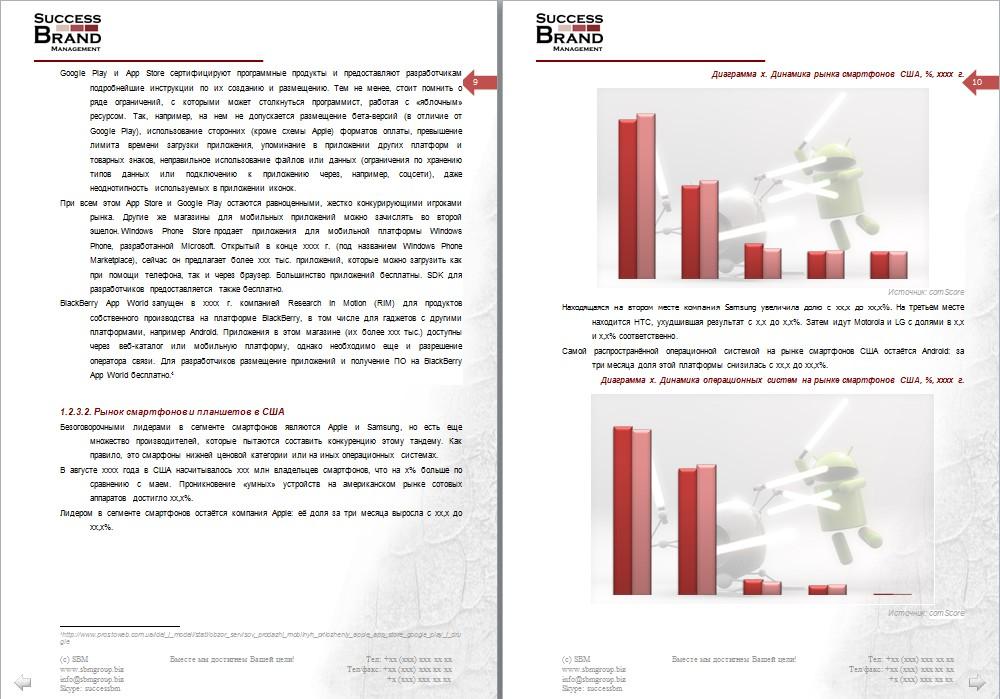 Анализ рынка мобильных приложений