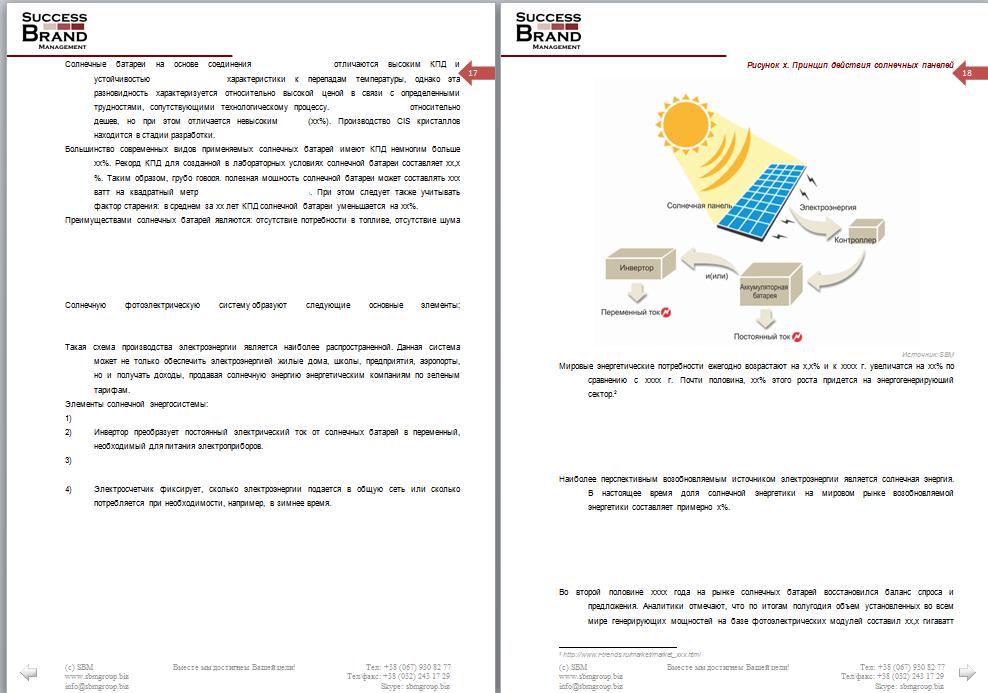 Анализ рынка солнечных батарей