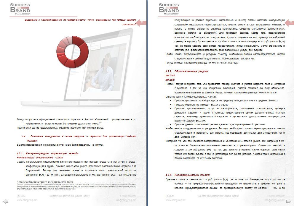 Анализ сервисов онлайн услуг