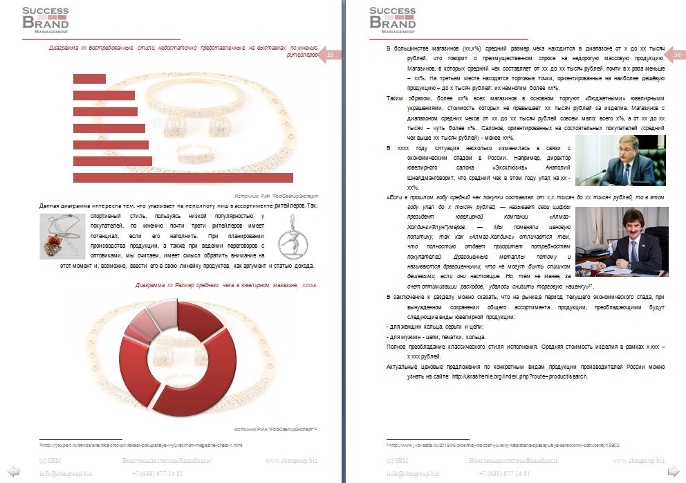 Бизнес-план производства ювелирных украшений
