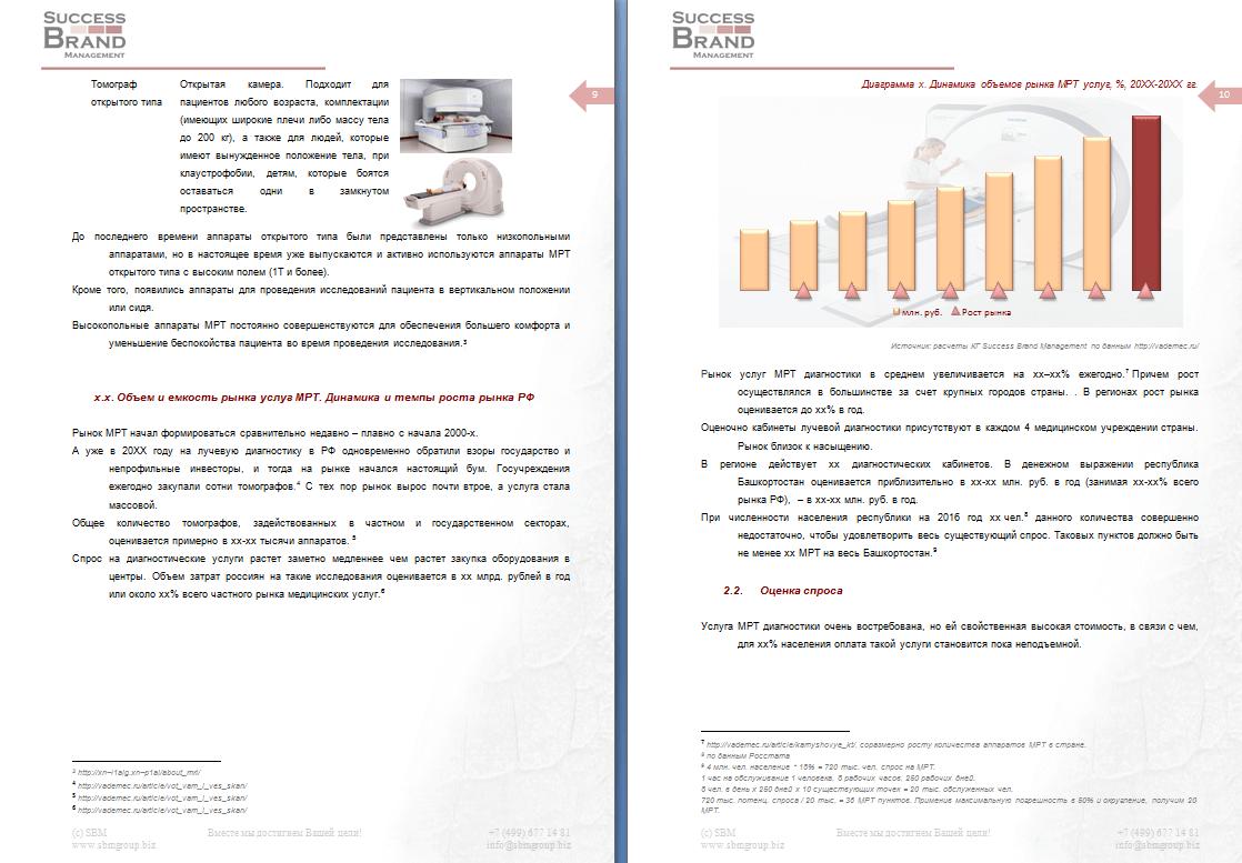 Анализ рынка услуг МРТ