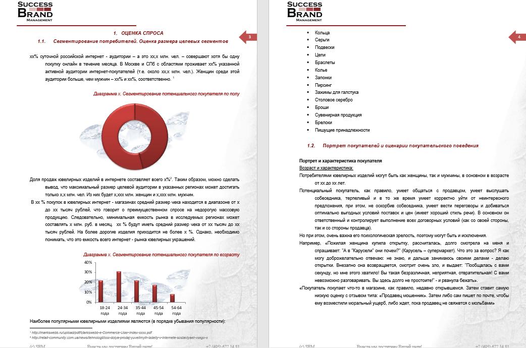 Анализ покупателей рынка бриллиантов