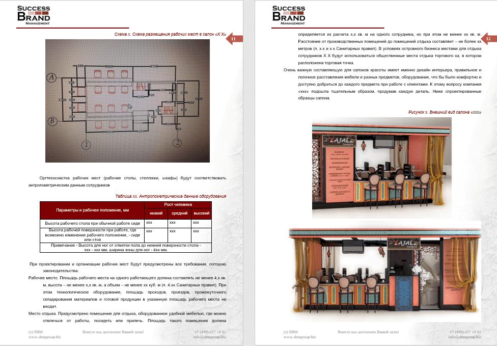 Бизнес-план островного салонного сервиса