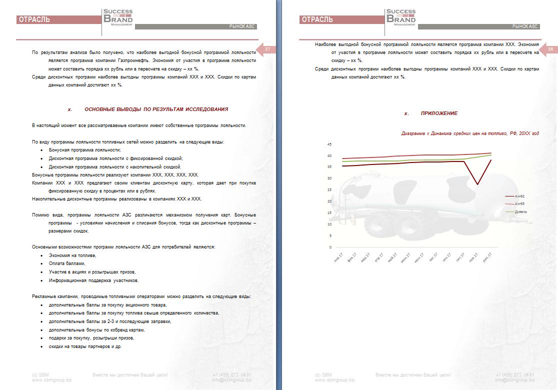 Анализ программ лояльности топливных брендов