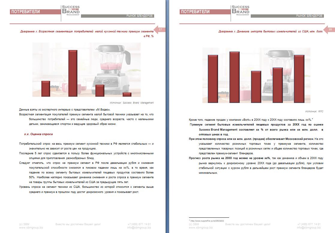 Анализ рынка блендеров в России